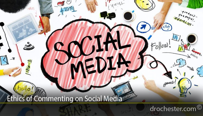 Ethics of Commenting on Social Media