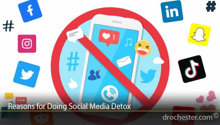 Reasons for Doing Social Media Detox